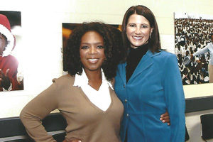 Oprah Winfrey and Suzanne